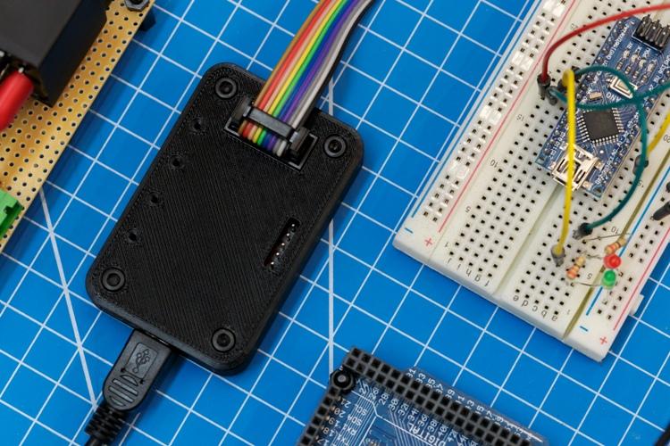 Obudowa wydrukowana z materiału Z-ESD odpornego na wyładowania elektrostatyczne