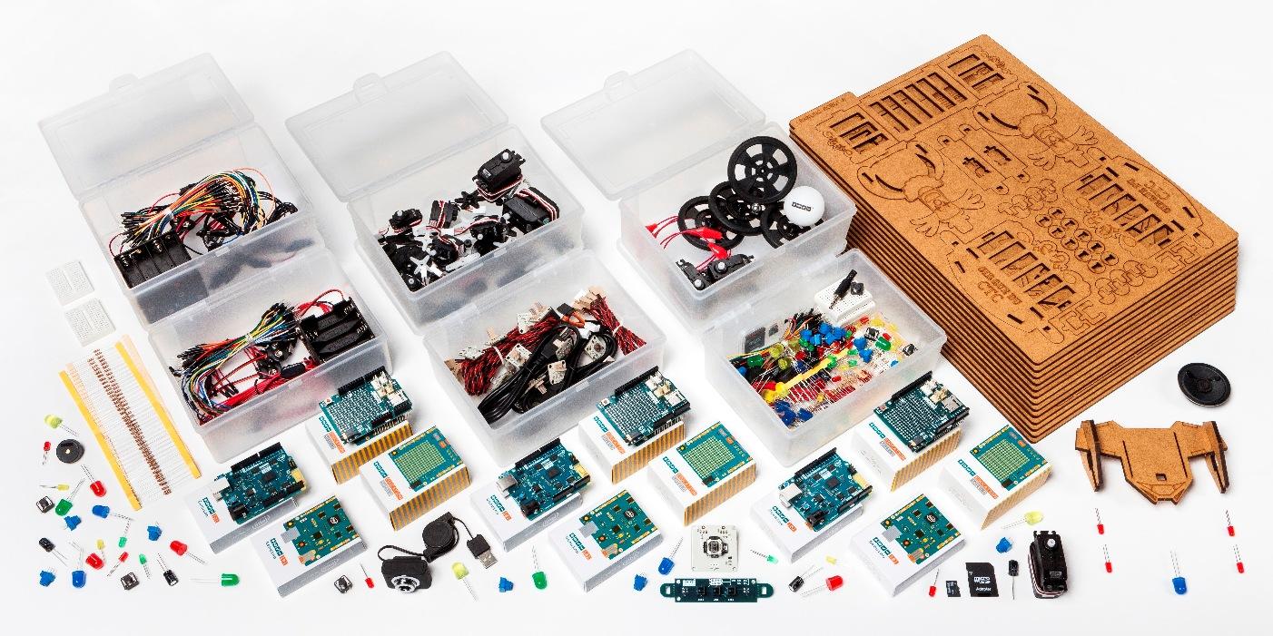 Nowy zestaw edukacyjny Arduino CTC 101