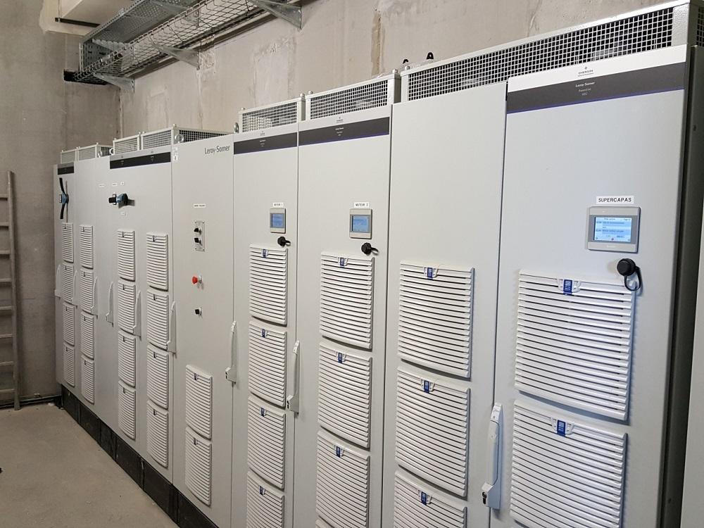 Napędy o zmiennej prędkości Powerdrive MD2 pracują w trzech trybach roboczych: rekuperacyjnym z aktywnym prostownikiem (AFE), trybie falownika silnika oraz trybie przetwornicy DC/DC z zarządzaniem przechowywaniem energii