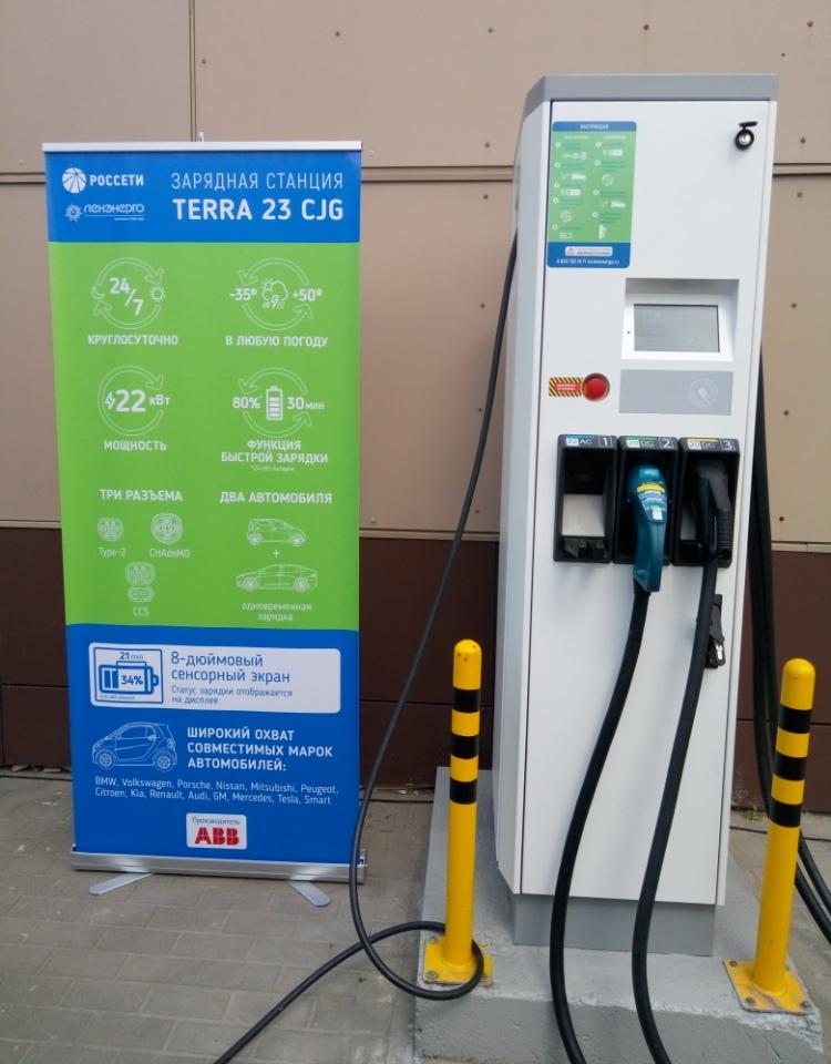 ABB zasila pilotażowy projekt ładowania pojazdów elektrycznych w Petersburgu