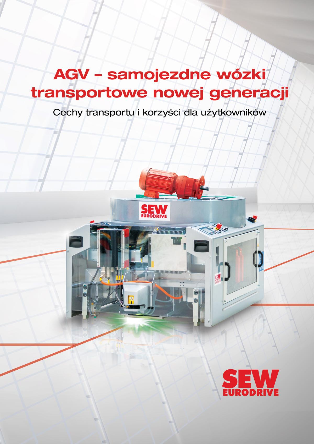 AGV – samojezdne wózki transportowe nowej generacji