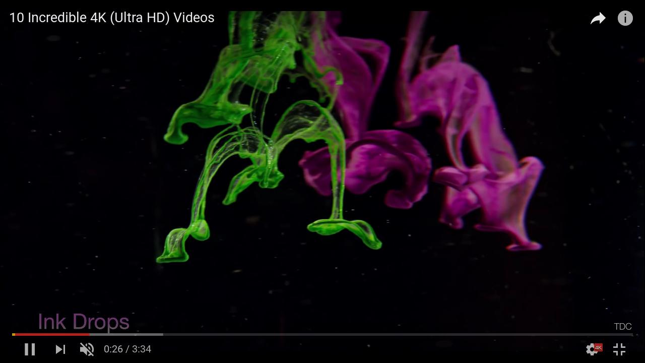 Rys. 2:  UP Board radzi sobie z przetwarzaniem strumienia video o rozdzielczości 4k
