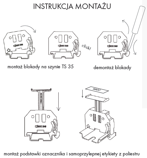 Instrukcja montażu WAGO z serii 249