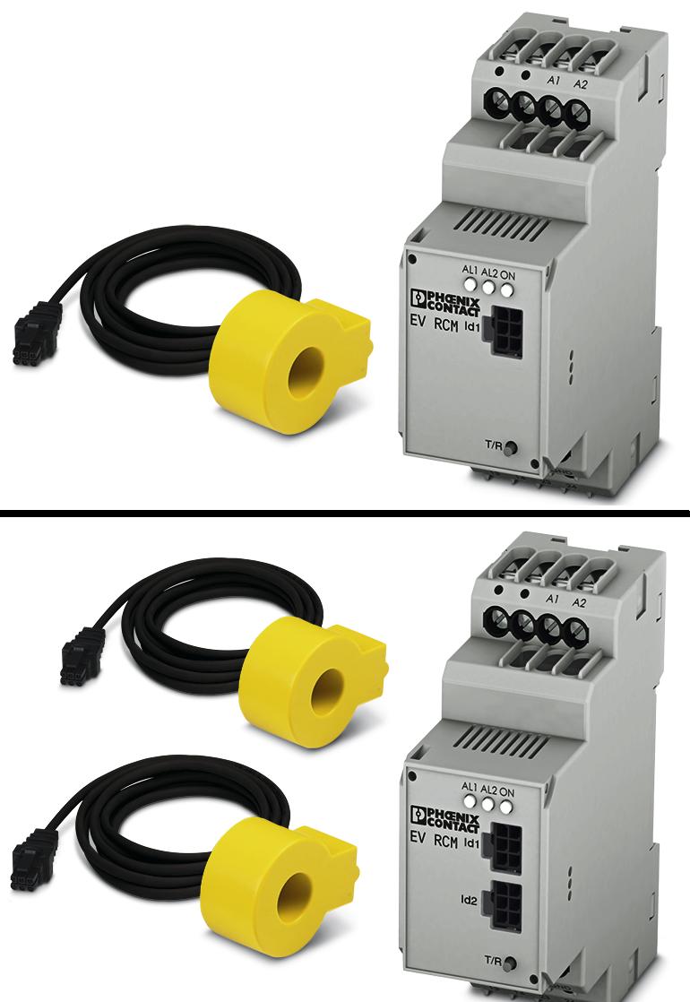 Moduły EV RCM dostępne są w dwóch wariantach