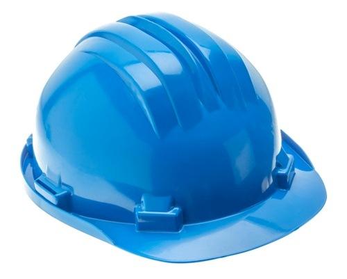 Niebieski kask ochronny HT5K181