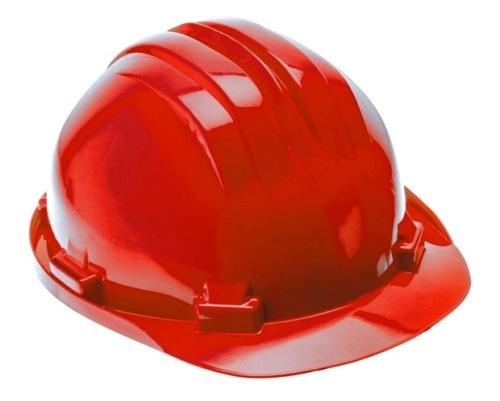 czerwony kask ochronny HT5K182