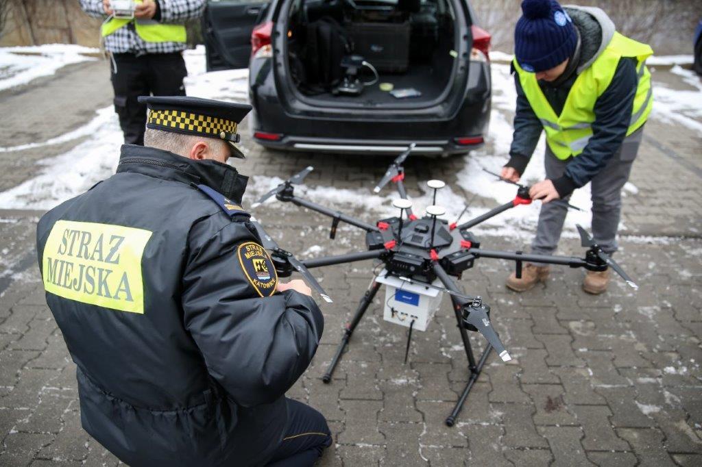 Już w pierwszej godzinie pracy katowicka straż miejska wystawiła mandat w wysokości 500 zł