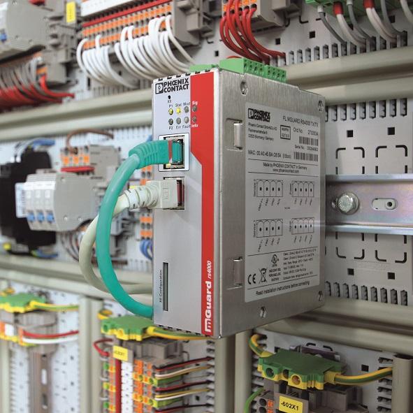 Urządzenia zabezpieczające FL mGuard są również stosowane w środowiskach produkcyjnych
