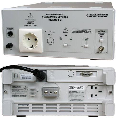 Stabilizator sieci zasilającej (LISN) HM6050-2