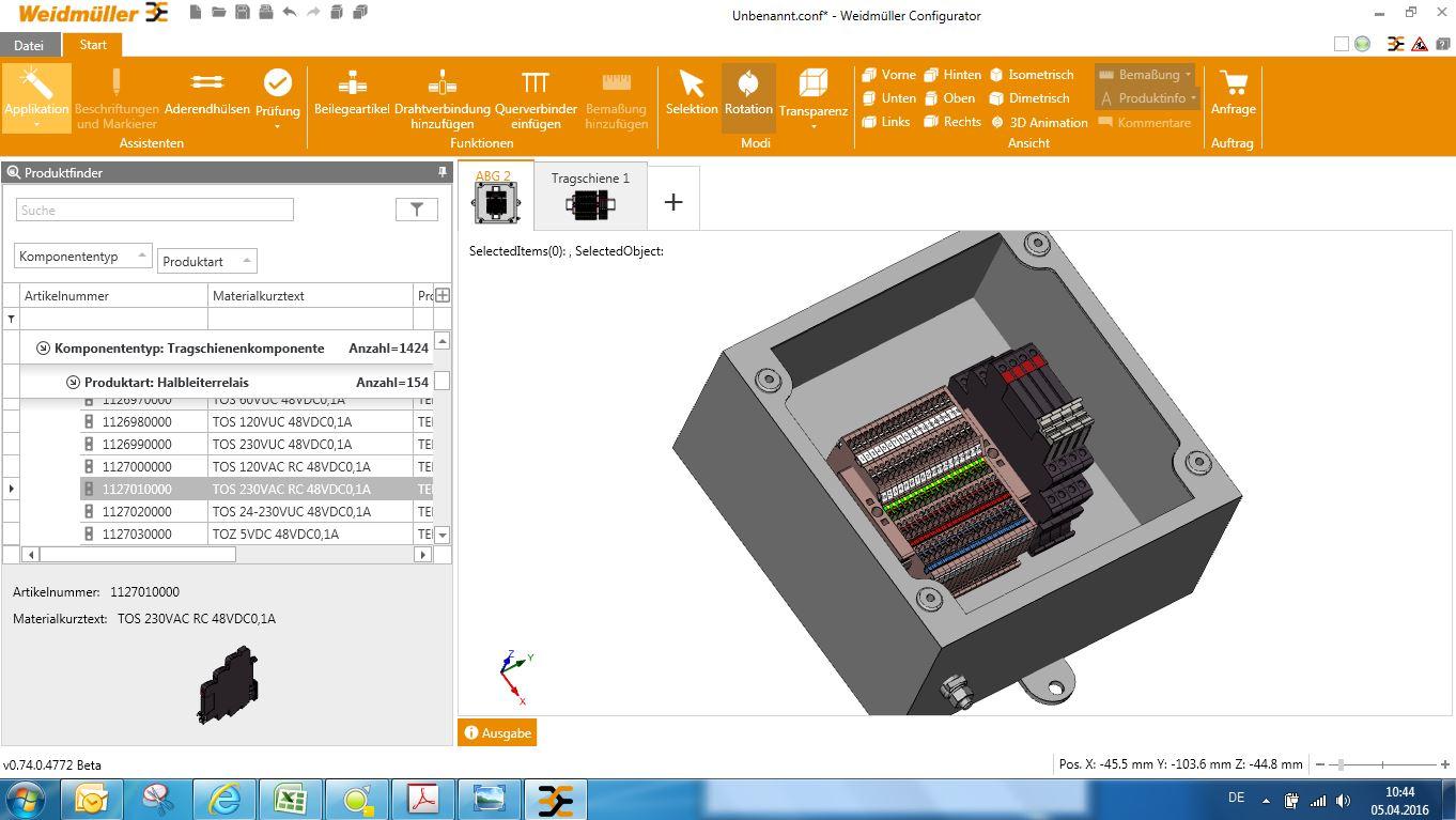 Weidmüller Configurator to intuicyjne w obsłudze i wydajne oprogramowanie inżynierskie.