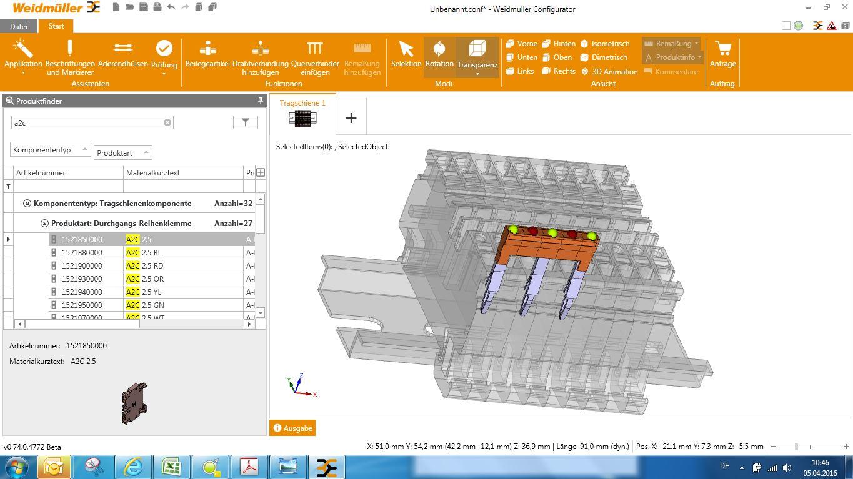 Możliwość tworzenia modeli 3D z zaznaczeniem istotnych elementów – np. widok mostków z zaznaczonymi miejscami połączeń.