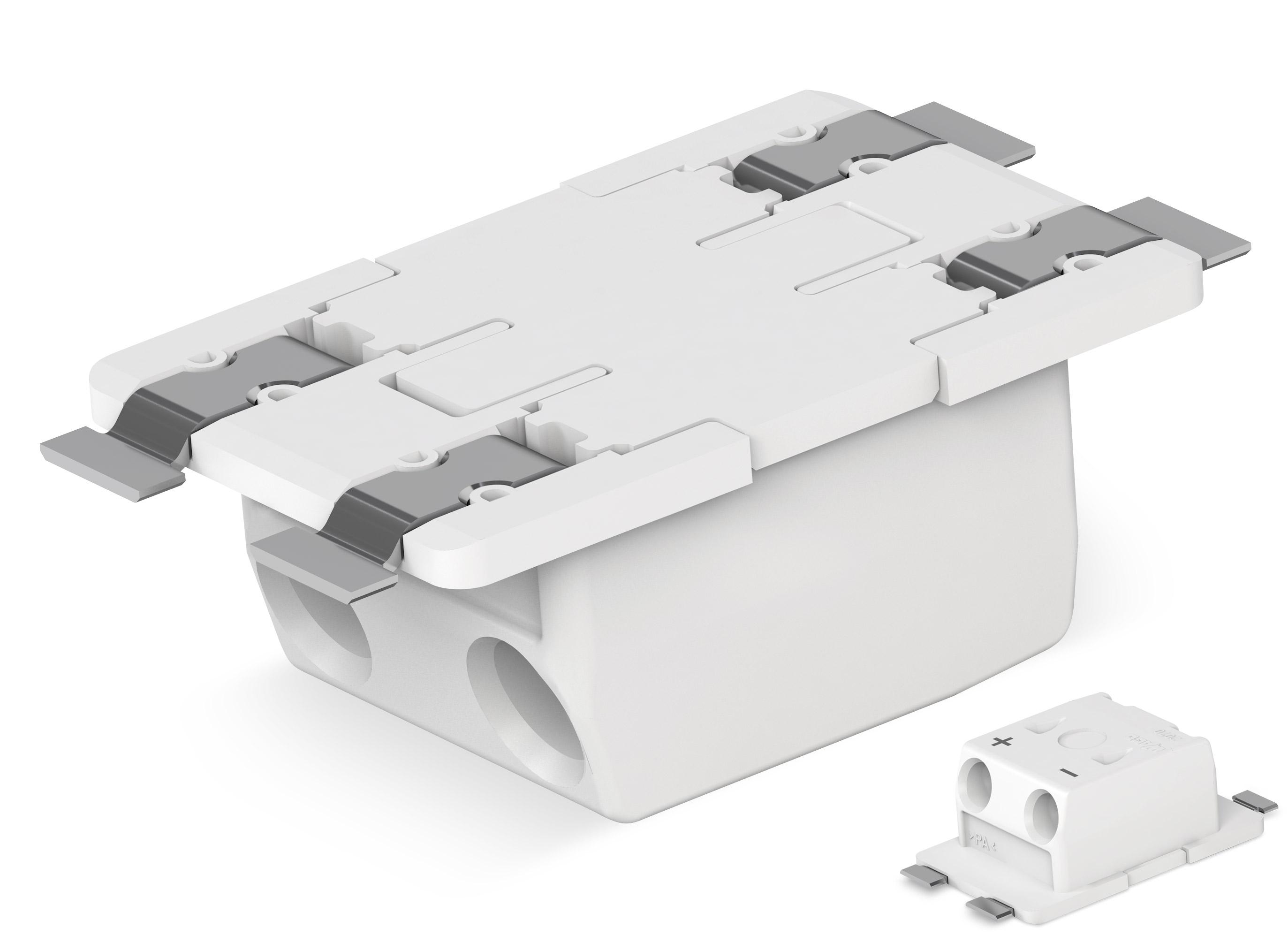 """nowe złączki WAGO do płytek drukowanych SMD typu """"Through-Board"""" z serii 2070"""