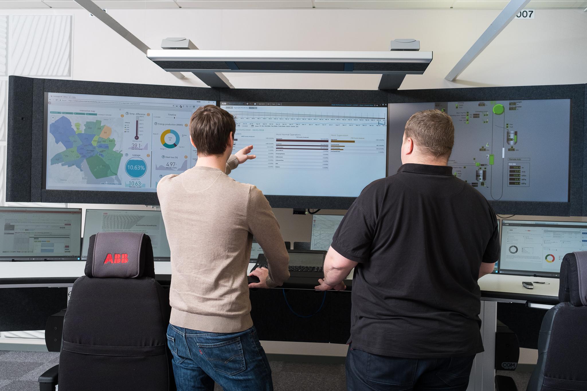 Collaborative Operations Center w szwedzkim Vasteras