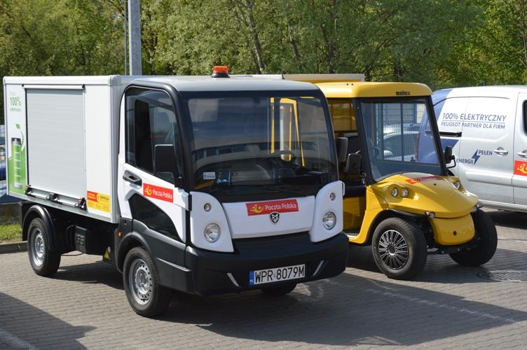 Poczta Polska rozpoczyna największe testy dostawczych samochodów elektrycznych w Polsce