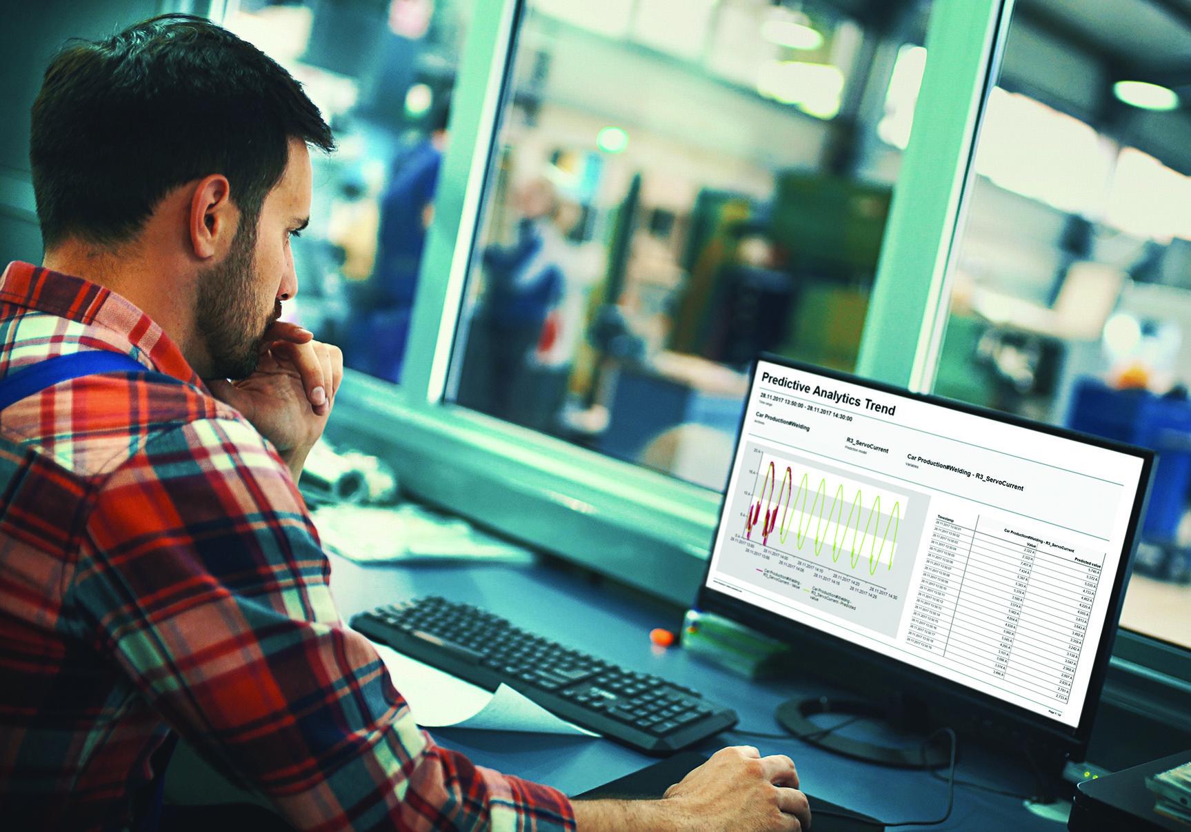 Raporty dotyczące analiz predykcyjnych dostępne w oprogramowaniu zenon Analyzer wykorzystują wartości historyczne i modele predykcyjne, pozwalając podmiotom działającym w przemyśle wytwórczym podejmować lepsze decyzje.