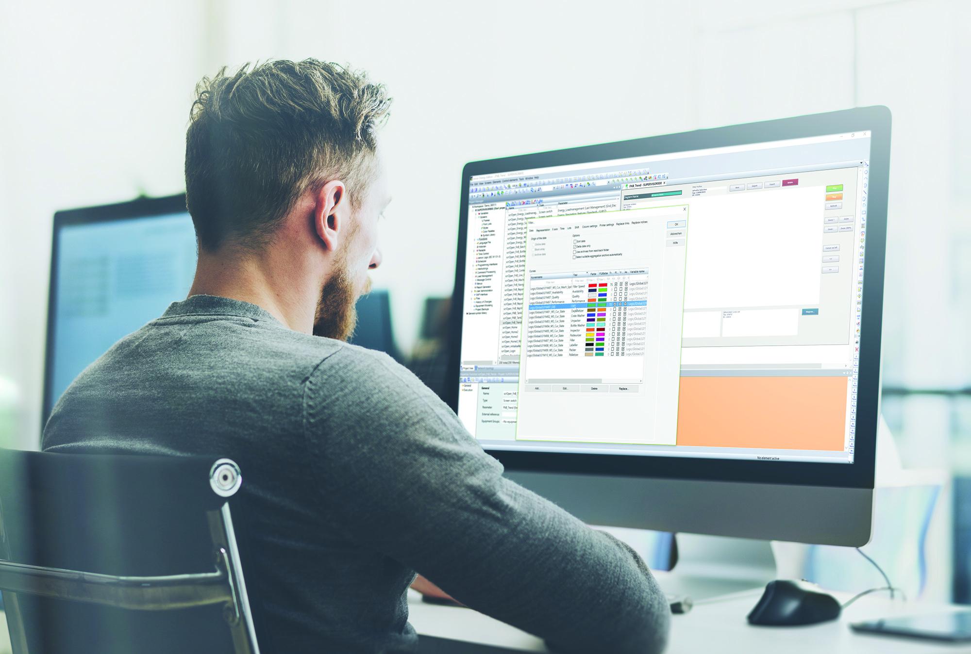 Moduł Extended Trend w oprogramowaniu zenon 8.00 jest przyjazny dla użytkowników dzięki wprowadzeniu kilku nowych funkcji i usprawnień.