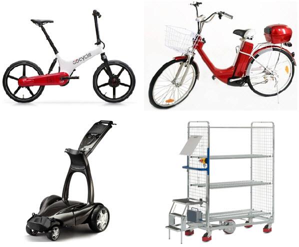 Zasilanie napędów elektrycznych w zastosowaniach przemysłowych (wózki magazynowe, rowery elektryczne, profesjonalny sprzęt do czyszczenia),