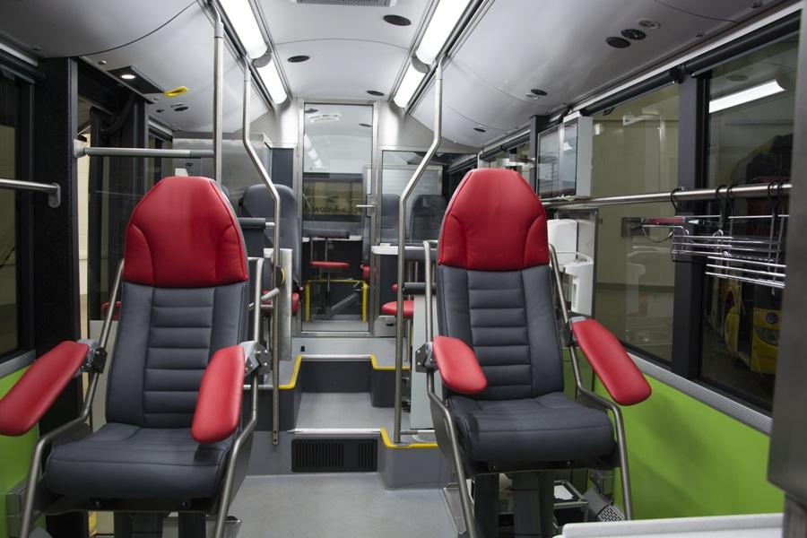 Elektryczny ambulans do pobierania krwi