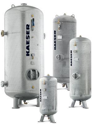 Zbiornik na sprężone powietrze firmy Kaeser Kompressoren