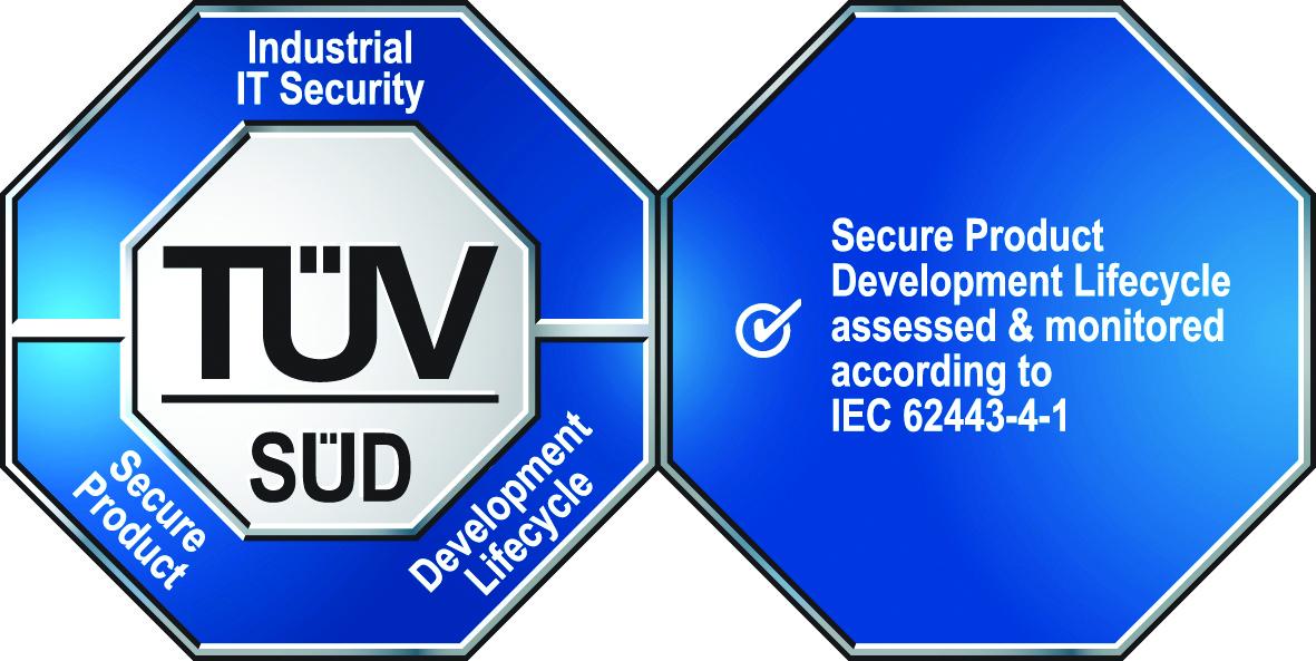 Certyfikat zgodności z nową normą bezpieczeństwa ISA/IEC 62443-4-1:2018