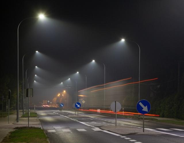 Prawidłowe oświetlenie przejść dla pieszych