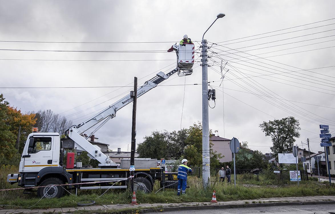 Energetycy TAURONA usuwają skutki huraganowego wiatru