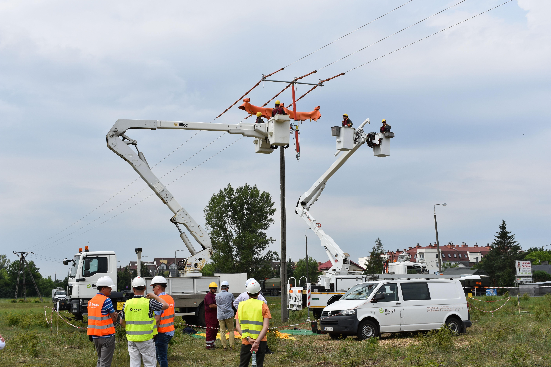 Energa Operator innowatorem w Pracach Pod Napięciem