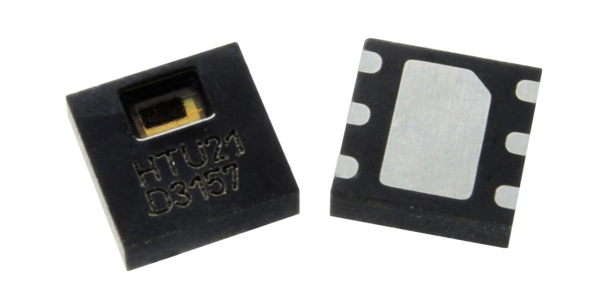 Miniaturowy sensor temperatury i wilgotności HTU21P z Tyco Electronics Sensor Solutions