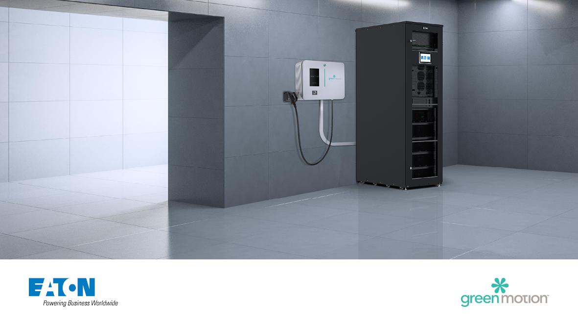 Eaton i Green Motion łączą siły by zintegrować ładowarki do pojazdów elektrycznych w budynkach z magazynowaniem energii