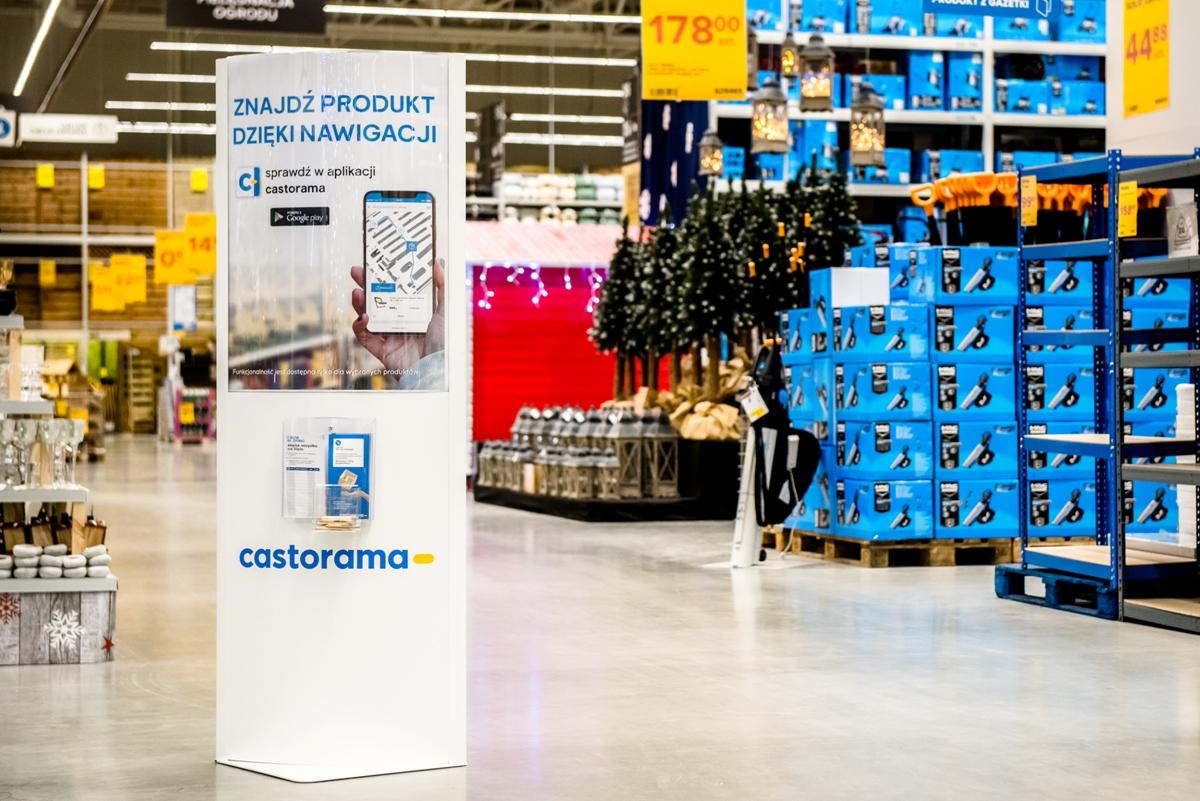 Nawigacja wewnętrzna w systemie Interact Retail