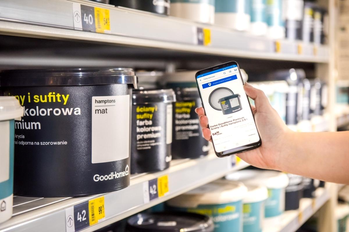 Innowacyjne oświetlenie wskaże lokalizację produktów na półkach Castoramy