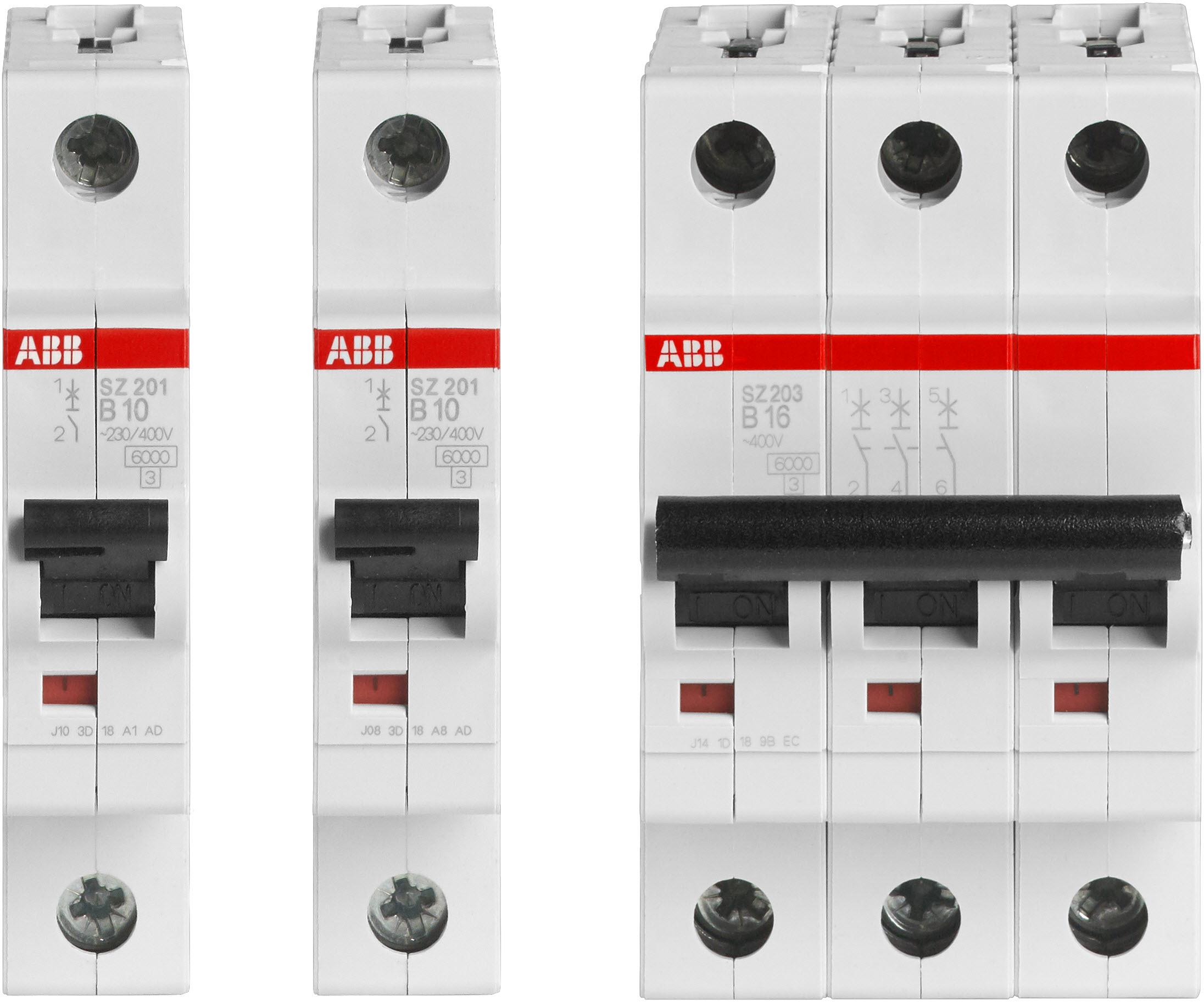 Wyłączniki nadmiarowo-prądowe ABB SZ200: Instalacja pod specjalną ochroną