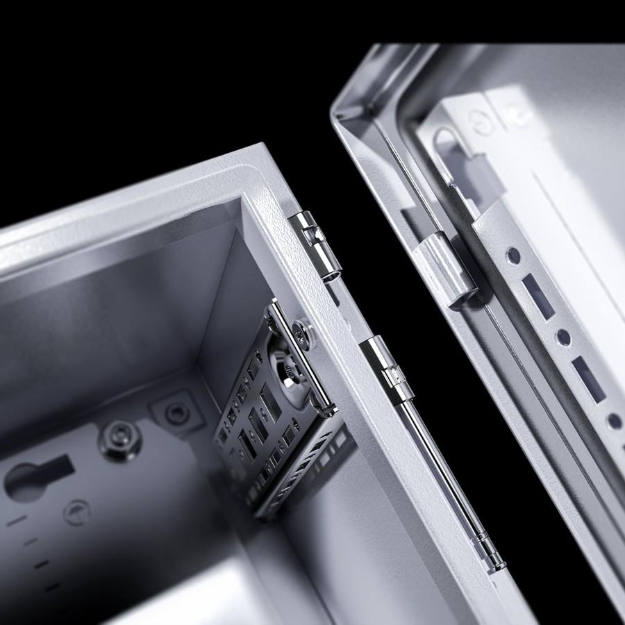 Szybciej: wszystkie części płaskie w dostawie są dołączane luzem i można je poddawać obróbce bezpośrednio – bez demontażu. Montaż jest szybki, gdyż odbywa się w dużym stopniu bez użycia narzędzi.