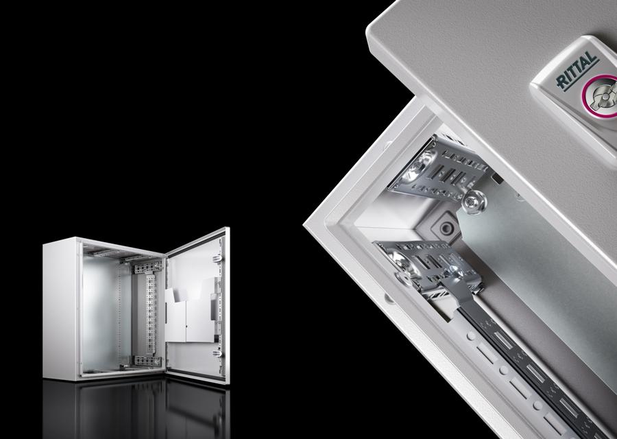 Systemowo: dzięki elastycznym możliwościom zabudowy wewnętrznej obudowy AX mają zalety modułowego systemu.