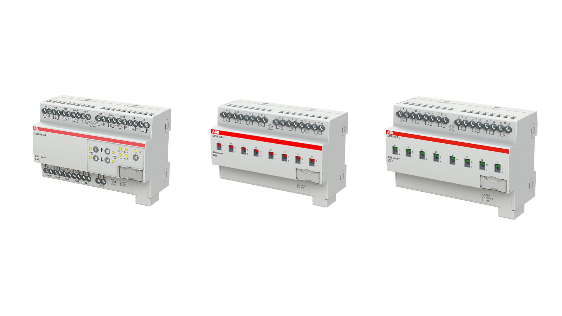 Aktory załączające KNX – nowa generacja przełączników do automatyki budynkowej ABB