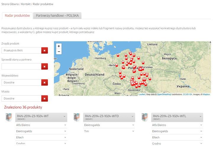 Radar Produktów RELPOL wyniki