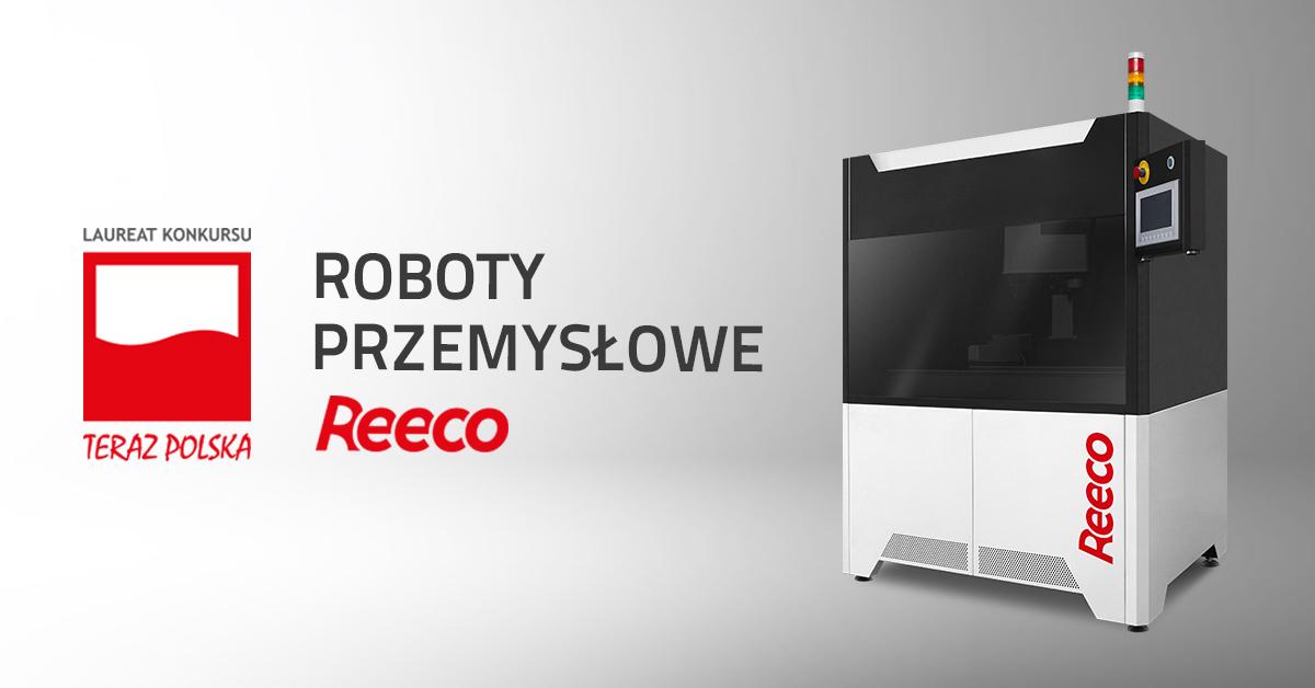 Roboty lutownicze REECO nagrodzone Godłem TERAZ POLSKA