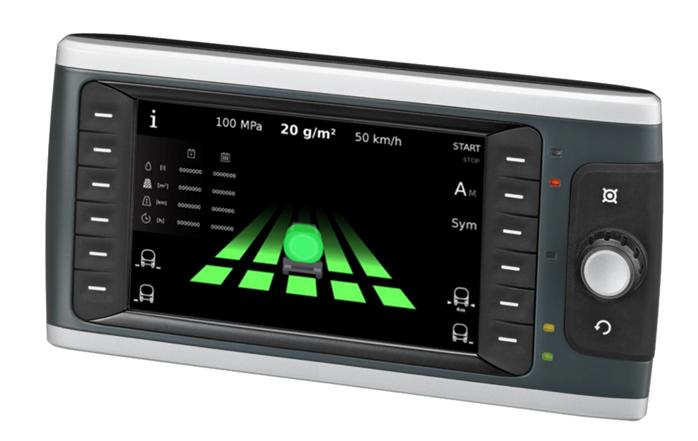 Rys. 3. Interfejs graficzny na panelu BODAS DI4 firmy Bosch Rexroth w VAMMAS CSBH 3600.
