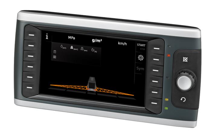 Rys. 4. Interfejs graficzny na panelu BODAS DI4 firmy Bosch Rexroth w polewarko-posypywarce PPL.