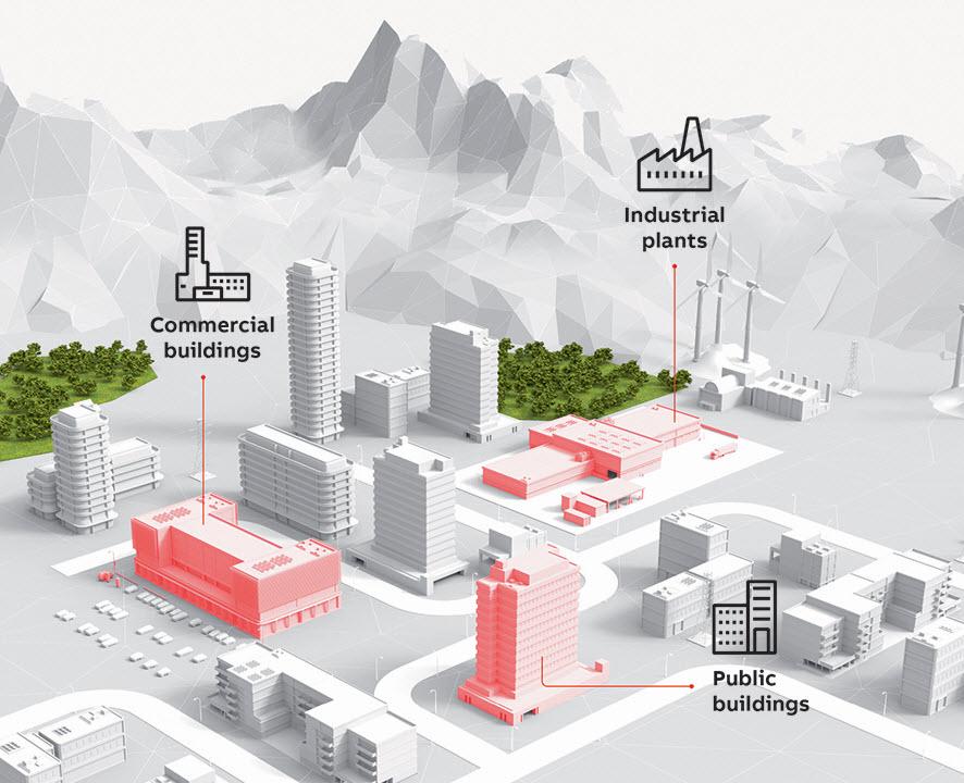 Fot. 1. Gama produktowa M4M umożliwia pełną analizę jakości energii i dokładne monitorowanie wydajności energetycznej budynków komercyjnych i przemysłowych, a także centrów przetwarzania danych.
