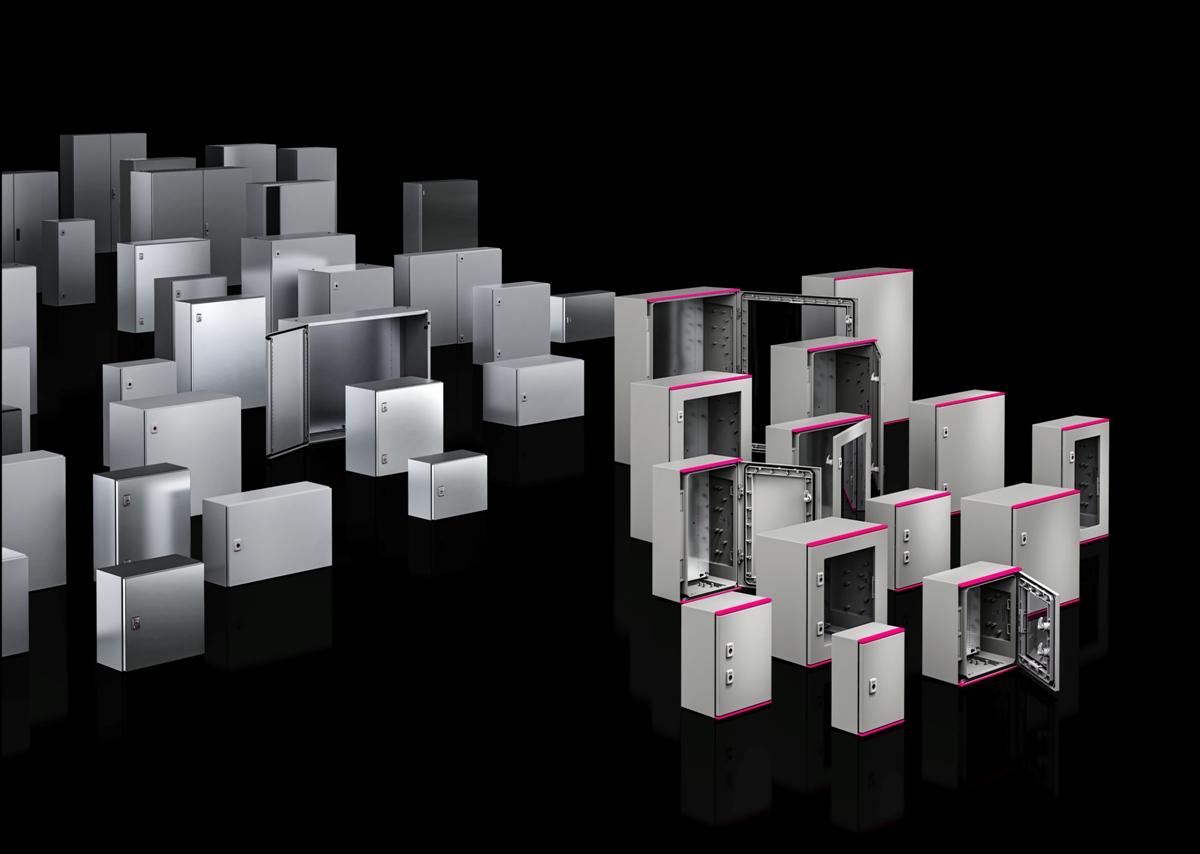 Obudowy Rittal AX z tworzywa sztucznego