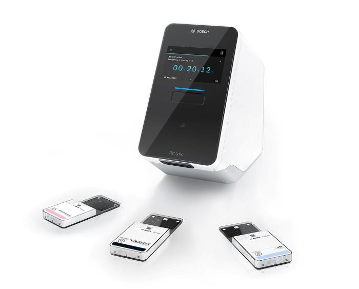 Najszybszy na świecie test na koronowirusa do analizatora Bosch Vivalytic