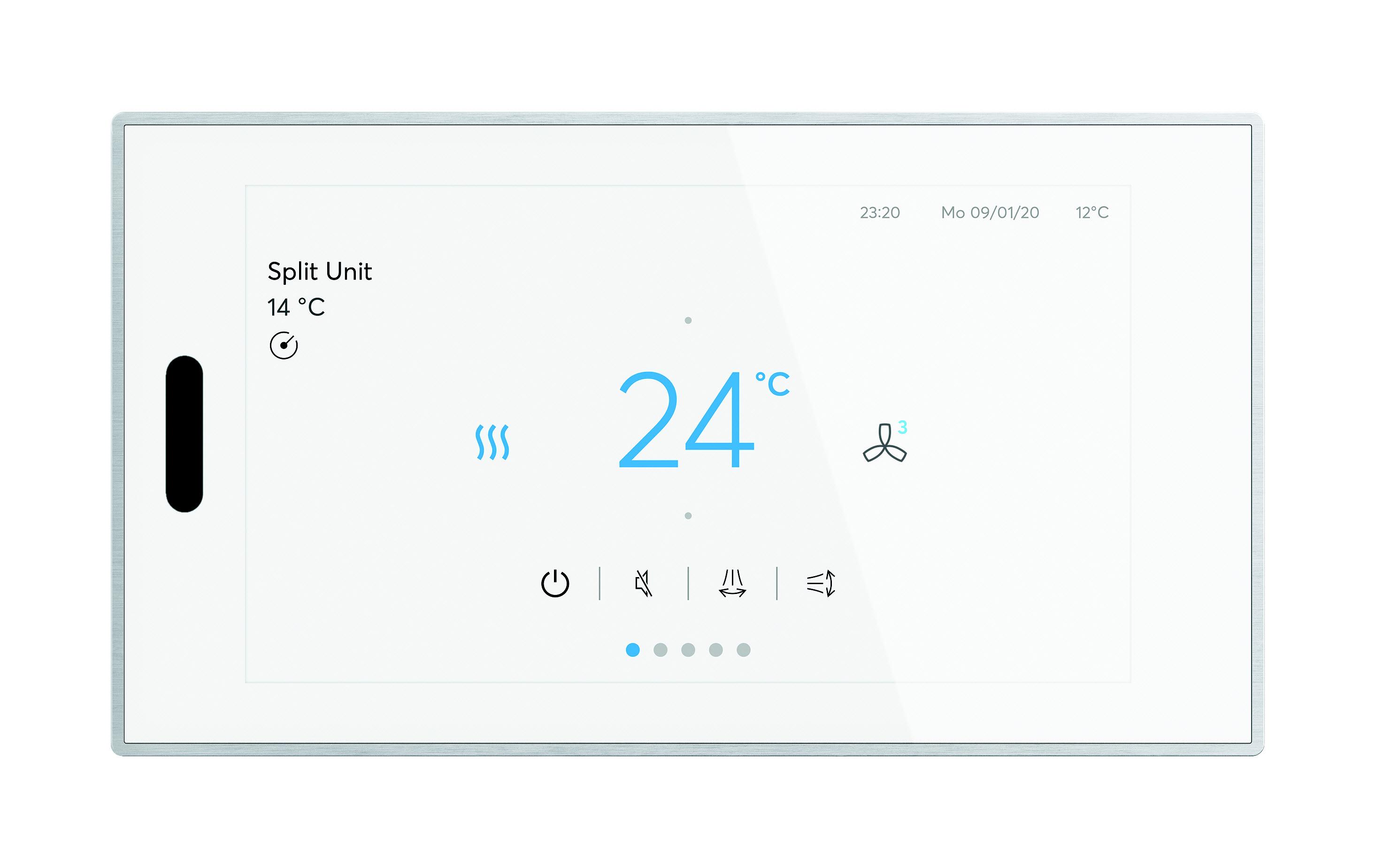 ABB RoomTouch czyli KNX z technologią swipe