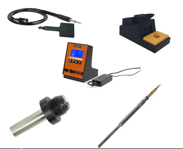 Narzędzia lutownicze Metcal serii GT z regulacją sterowania temperaturą