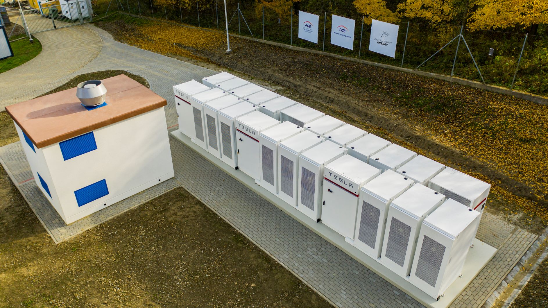Stacjonarny magazyn energii w Rzepedzi
