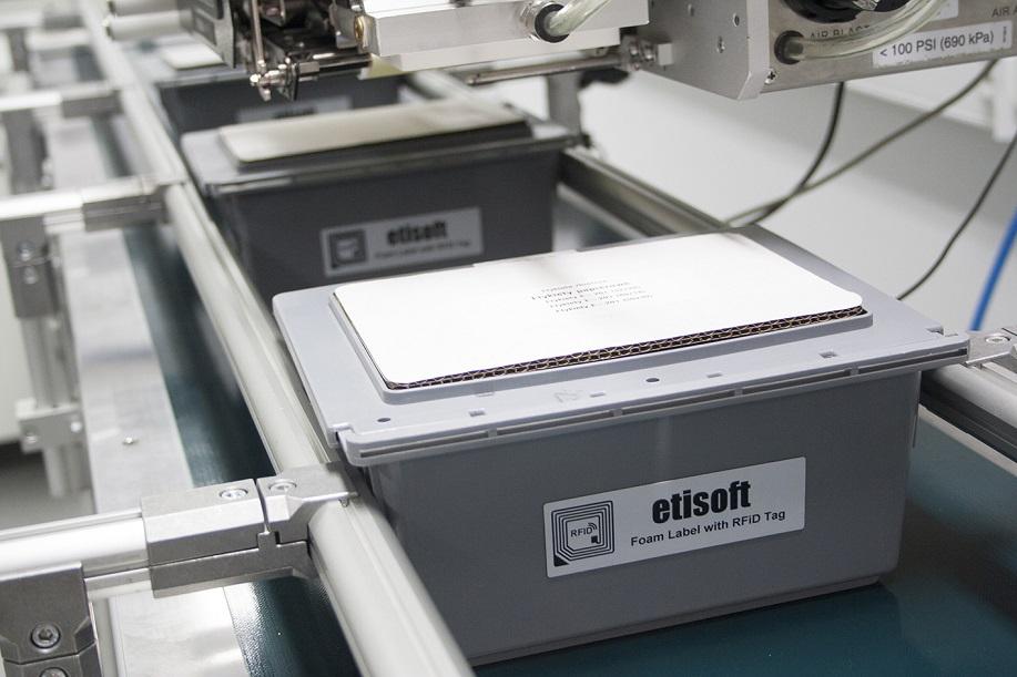 Etykieta RFID na produkcie
