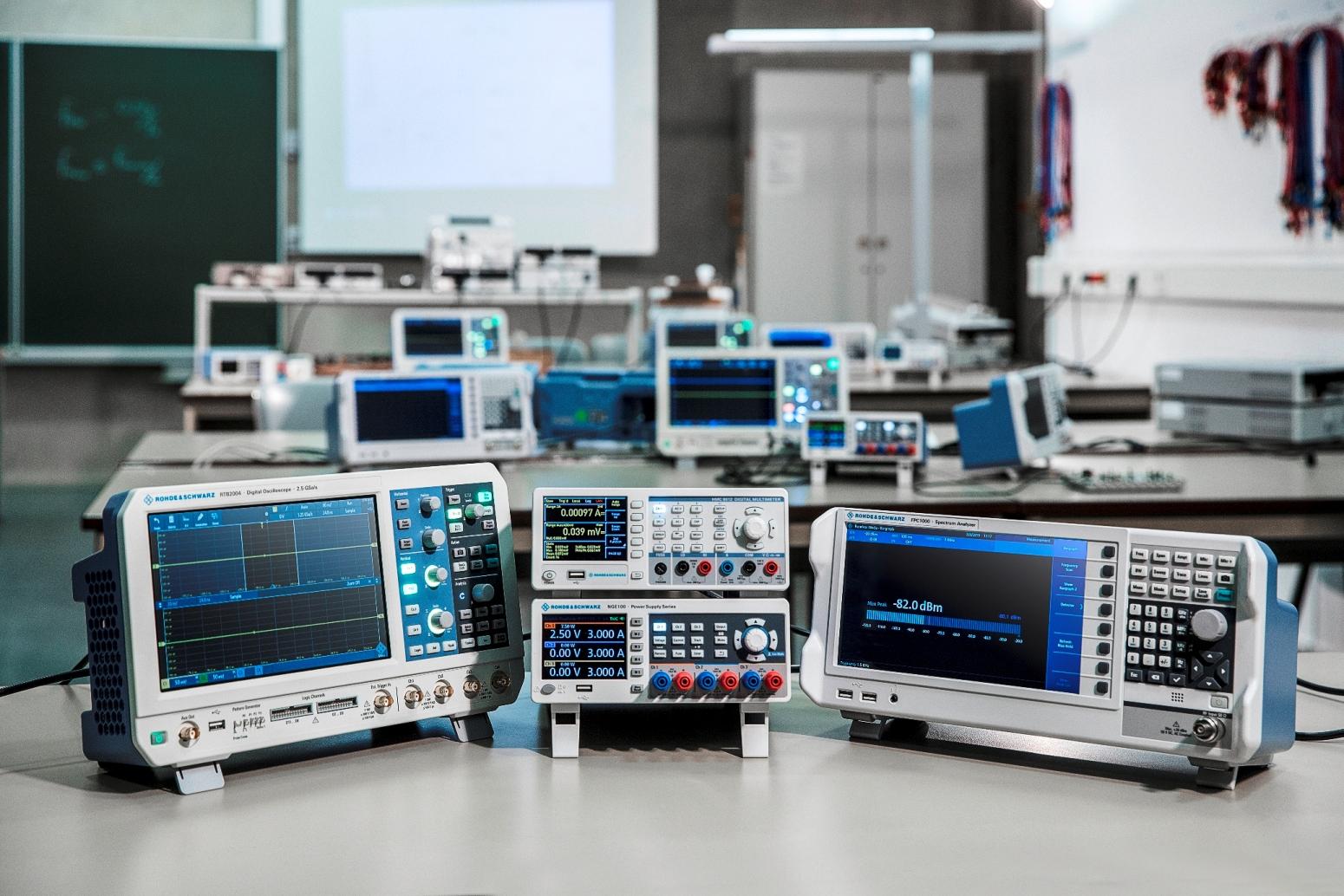 Oscyloskopy Rohde & Schwarz szkolenie warsztaty