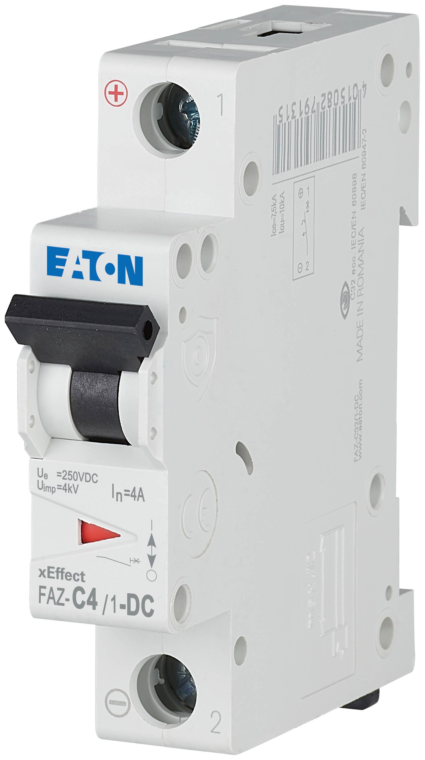 Wyłącznik nadprądowy Eaton serii FAZ
