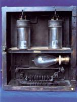 Rys. 5.  Pierwszy elektrolityczny licznik Edisona, patent amerykański z 1881 roku  [1]