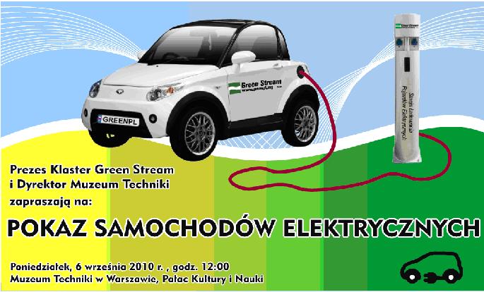 Pokaz samochodów elektrycznych